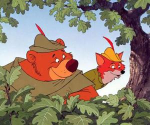 disney, robin hood, and sully mike image