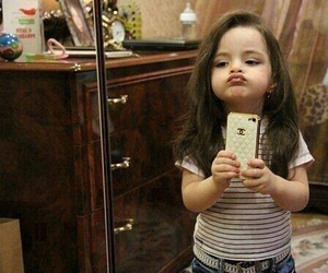 baby, selfie, and iphone image