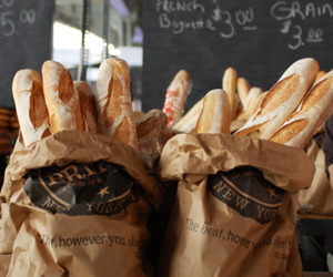 food, yum, and bread image
