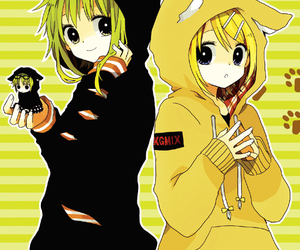 vocaloid, gumi, and rin image
