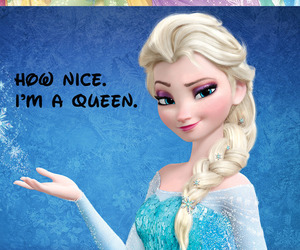 Queen, princess, and frozen image