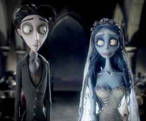 corpse bride, tim burton, and black and white image
