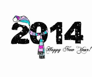 2014, happy new year, and happy image