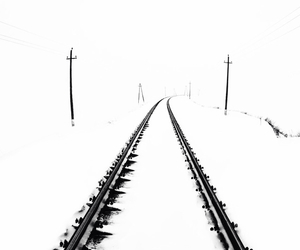 nowhere, road, and train image