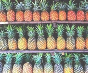 fruit, psych, and pinapple image