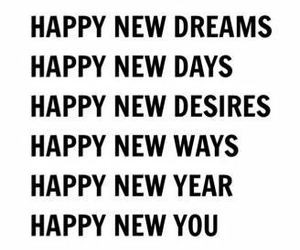 desire, dreams, and new year image