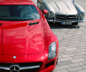 cars and mercedes image