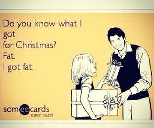 christmas, fat, and for image