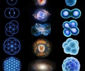 mandala, energy, and universe image