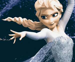 be a queen like elsa image