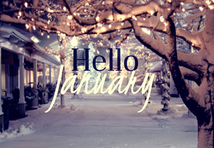 Image result for hello january winter