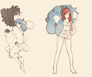 levy, peluche, and fairy tail image
