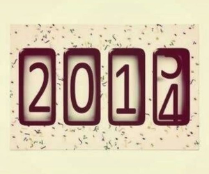 2014, new year, and 2013 image