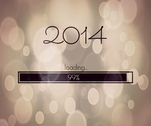 new year, goodbye 2013, and 2014 image