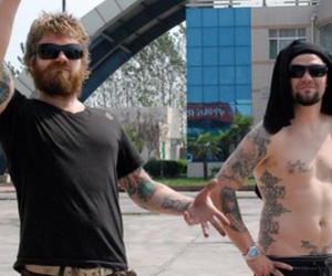 bam margera, brothers, and jackass image