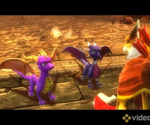 Xbox 360, spyro dawn of the dragon, and spyro and cynder mating image
