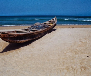africa, beach, and boat image