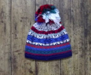 beanie, bobble hats, and nordic image