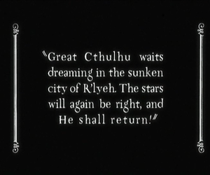 city, cthulhu, and dreaming image
