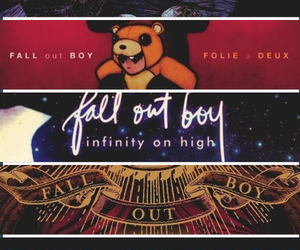 fall out boy, FOB, and music image