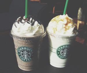 starbucks, yummy, and drinks image