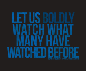 blue, bold, and quote image
