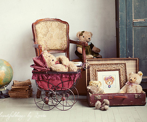 bear, vintage, and teddy bear image