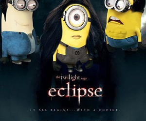 minions, eclipse, and twilight image