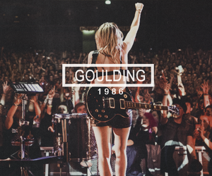 Ellie Goulding and 1986 image