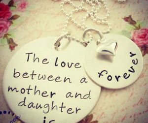 love, daughter, and mother image