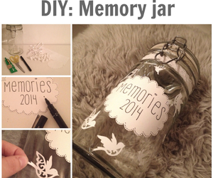 diy, memories, and memory jar image