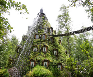 chile, hotel, and nature image