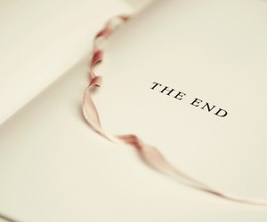book, the end, and ende image