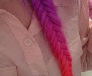 colours, hairstyle, and fish tail image