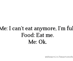 food, funny, and quote image