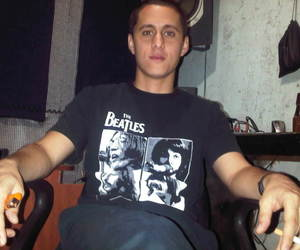 cigarrette, the beatles, and canserbero image