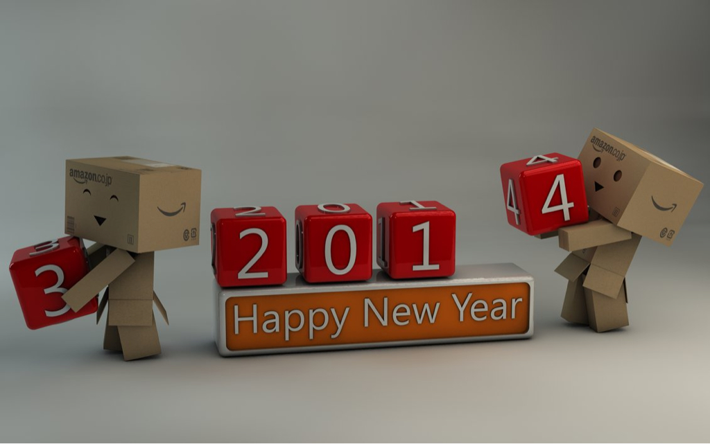2014, 2013, and happy new year image