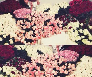 bouquets, flowers, and white roses image