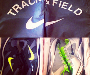 nike, spikes, and sprint image