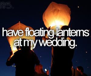 wedding, before i die, and lantern image