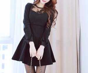 fashion, cute, and black image