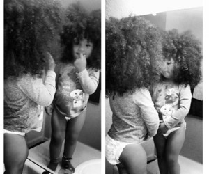 Afro, cute, and baby image