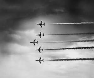 b&w, black and white, and plane image