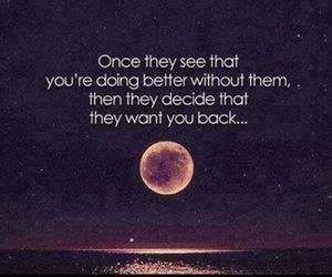 quotes, moon, and back image