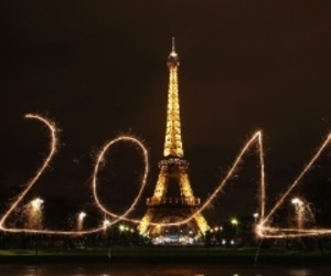 2014, new year, and paris image