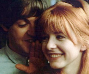 60s, bangs, and Paul McCartney image