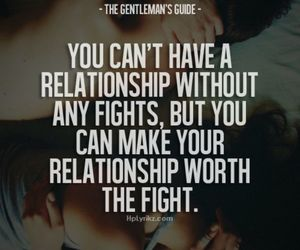 Relationship, love, and fight image