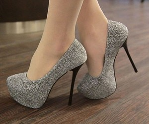 high, shoes, and heeled image