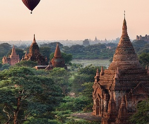 myanmar, nature, and travel image