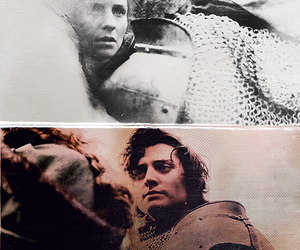 Richard III, the white queen, and aneurin barnard image